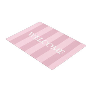 Girly Pink Welcome Mat