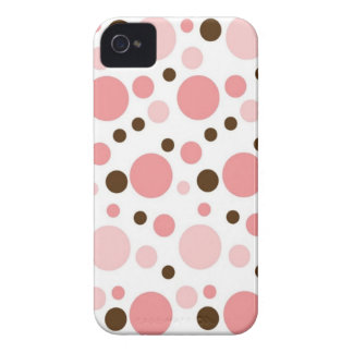 Girly Polka Dots Blackberry Case