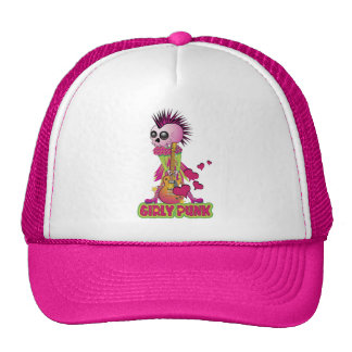 Girly Punk Rocker Trucker Hat