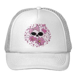Girly Punk Skull Hat