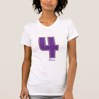 Girly purple four T-Shirt