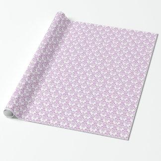 Girly Purple White Vintage Damask Pattern 2