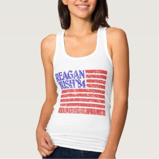Girly Reagan Bush 84 Volunteer Tank Top