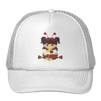 Girly Retro Ladybug Hat