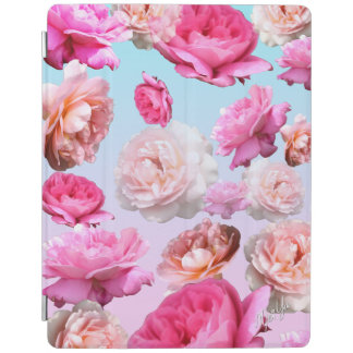 Girly Romantic Pink Floral iPad 2/3/4 Smart Cover iPad Cover