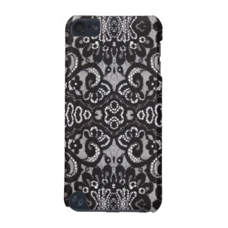 girly shabby chic bohemian black lace iPod touch (5th generation) covers