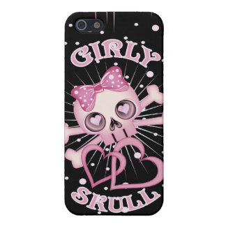 Girly Skull Cover For iPhone 5/5S