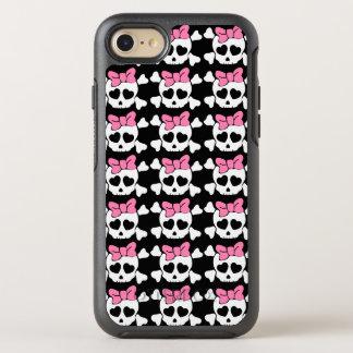 Girly skull OtterBox symmetry iPhone 7 case