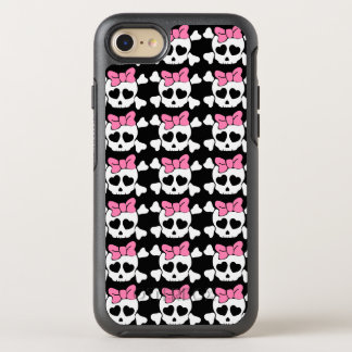 Girly skull OtterBox symmetry iPhone 8/7 case