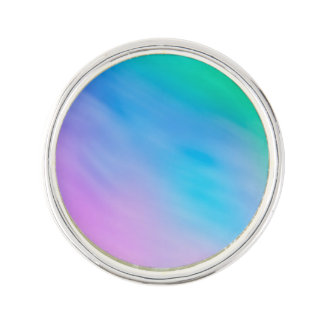 Girly Soft Rainbow Colored Sky Lapel Pin