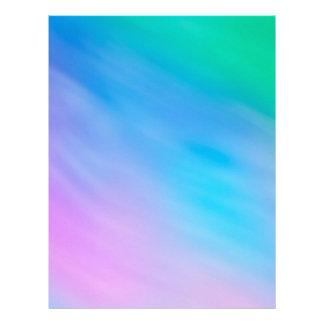 Girly Soft Rainbow Sky Custom Flyer