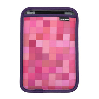 Girly squares iPad mini sleeves