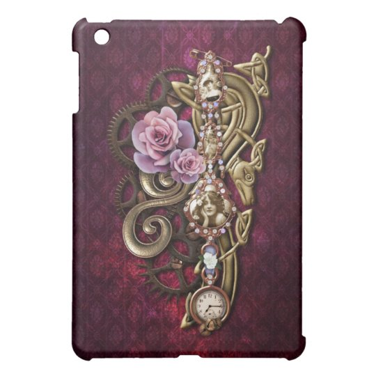 Girly Steampunk iPad Mini Case