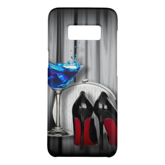 girly stilettos blue martini party girl Case-Mate samsung galaxy s8 case