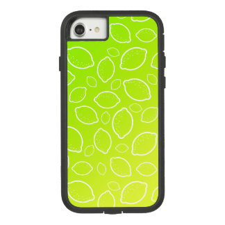 girly summer fresh green yellow lemon pattern Case-Mate tough extreme iPhone 8/7 case