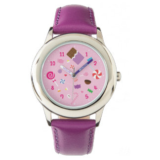 Girly Sweet Candy Girls Watch