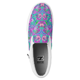 girly swirls shoes