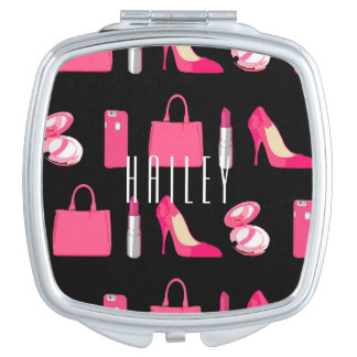 Girly things compact mirror