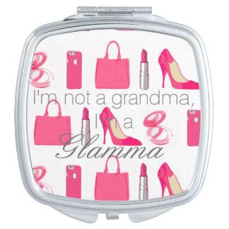 Girly things Glamma compact mirror