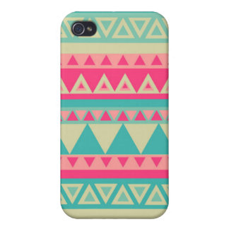 Girly Tribal Print iPhone 4/4s Cases For iPhone 4