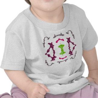 Girly Tribal Tattoos 1 Girls Shirt