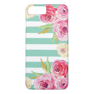 Girly Watercolor Floral Pattern iPhone 8/7 Case