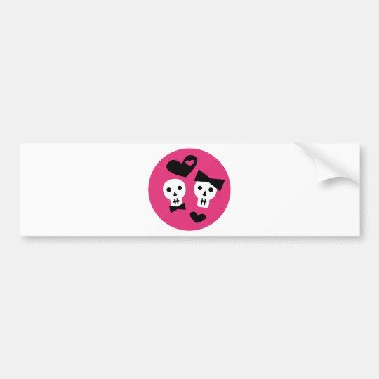 GirlyGothic12 Bumper Sticker