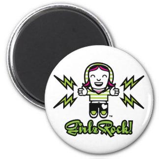 GirlzRock! Girl Power Magnet