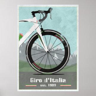 GIRO D'ITALIA BIKE POSTER
