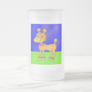 Giroodle Anime Art Gallery Character Frosted Glass Mug