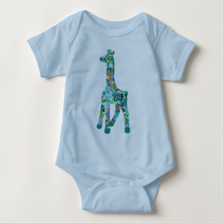 Girraffe for Oliver Baby Bodysuit