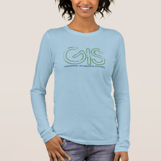 GIS, geographic information system - Customized Long Sleeve T-Shirt