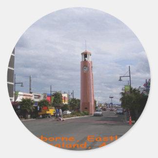 Gisborne Eastland Tairawhiti Round Sticker