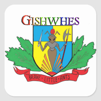 Gishwhes Brave Little Ants stickers