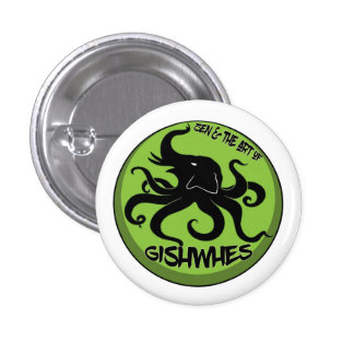 GISHWHES Elopus 2014 Zen Pinback Button