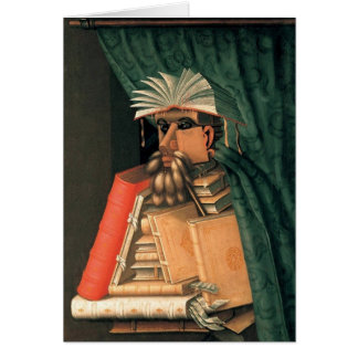 Giuseppe Arcimboldo - The Librarian Card