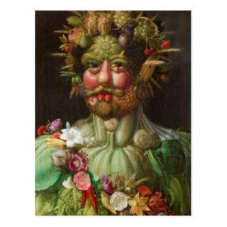 Giuseppe Arcimboldo's Vertumnus (1590) Postcard