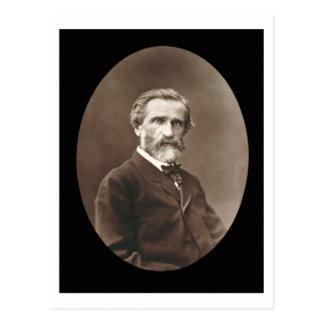 Giuseppe Verdi (1813-1901) from 'Galerie Contempor Postcard