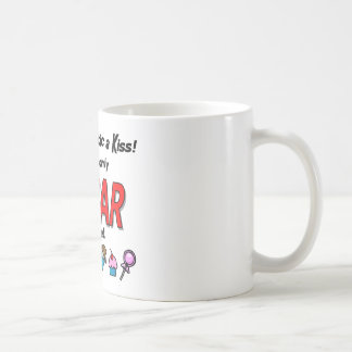 Give a Diabetic a Kiss Coffee Mug
