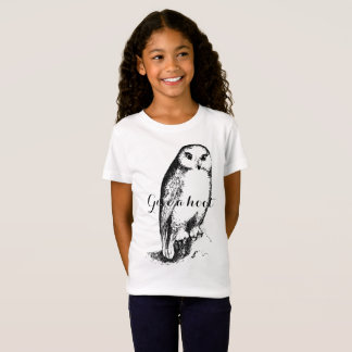 Give a hoot! Child Shirt