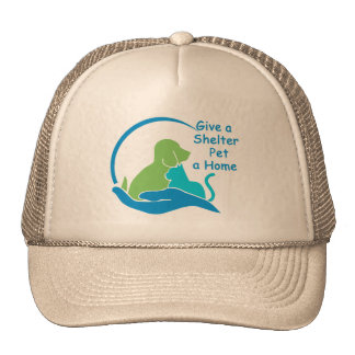 give a shelter pet a home trucker hat