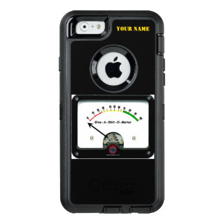 GIVE A SHITTE-O- METER OtterBox iPhone 6/6S CASE