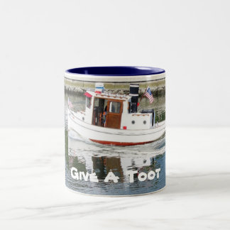 Give a Toot Tug Boat Coffee Mug