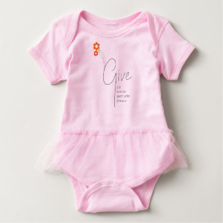 GIve Baby Bodysuit