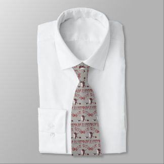 Give Blood Play Hockey Neck Tie