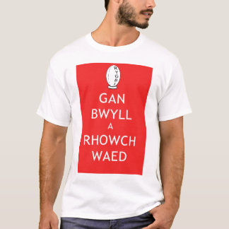 Give Blood Rugby (Welsh) T-Shirt