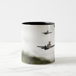 Give em hell Two-Tone coffee mug