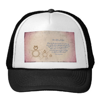 Give Glory to God Poem by Kathy Clark Trucker Hat