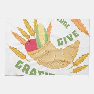 Give Gratitude Kitchen Towels