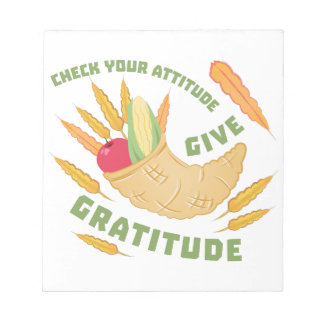 Give Gratitude Notepad